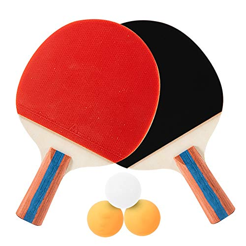 Fantastic Prices! Hewen-Ping Pong Set Pingpong Paddle Pingpong Racket Table Tennis 2 Player Set with...