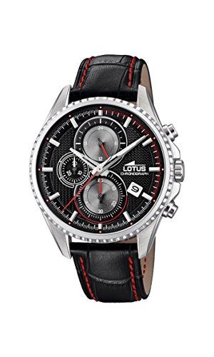 Lotus Watches Reloj Cronógrafo para Hombre de Cuarzo con Correa en Cuero 18527/6