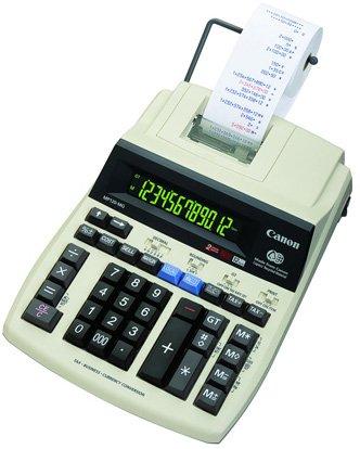 Canon MP120-MG Scrivania Calcolatrice stampante calcolatrice - Calcolatrice (ufficio, calcolatrice stampante, 12 cifre, 1 linee, AC/Batteria)