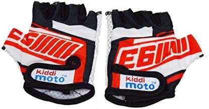 Kiddimoto Cycling Gloves Fingerless Gloves for Kids Perfect for Bike Scooter Skateboard Ideal product image