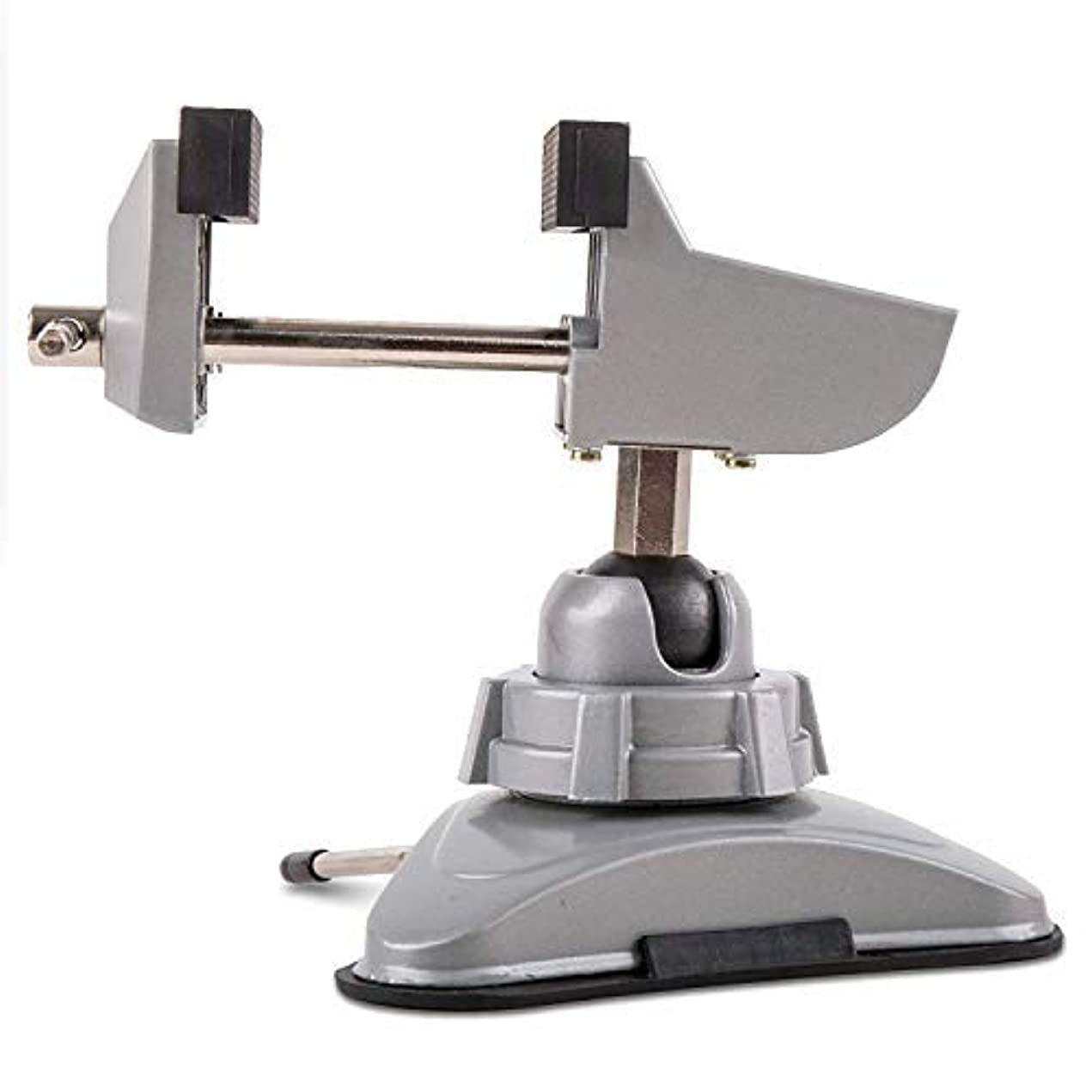 存在する彼のモジュールJOYABEST Hobby Mini Vice with 360°Swiveling Head Powerful Suction Base Mounting Mechanism Soft Jaws for Hobby, Craft, Model Building, Jewelry Making Metal Work Multi-Angle Table Vice (70mm Jaws) [並行輸入品]