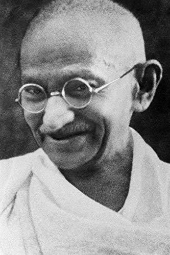 Mahatma Gandhi - achieve your goals, perfect 120 lined pages #2 (Mohandas Gandhi Notebooks)