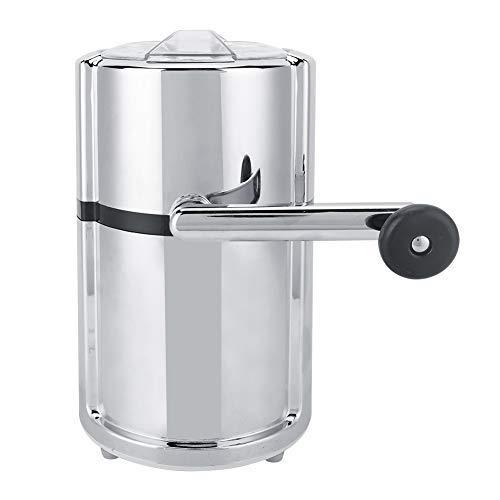 Machine à glace pilée en acier inoxydable forme ronde manivelle broyeur à glace manuel machine à glace pilée outil de cuisine