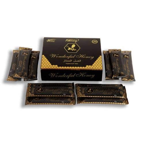 Mor Inek Wonderful Honey VIP Natural Original 15 g 12 Pack