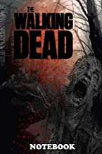 Notebook: The Walking Dead Poster , Journal for Writing, College Ruled Size 6
