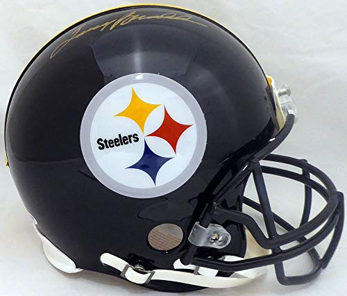 Terry Bradshaw Pittsburgh Steelers NFL Hand Signed Full Size Pro Line Helmet