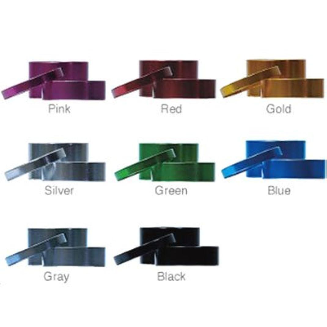 感情モザイクパウダーエヴァディオ 軽量アルミ オーバーサイズ(1-1/8インチ)用ヘッドセットスペーサー グレイ