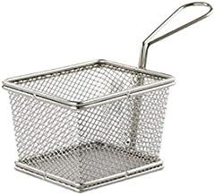Deep-fried Basket, 304 Stainless Steel Frying Filter, Oil-washed Vegetable Drain Oil Basket, Multi-functional Chef Basket,...