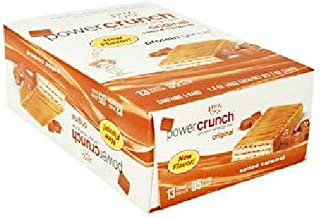 BioNutritional Research Group - Power Crunch Protein Energy Bar Salted Caramel, 5-1.4oz Bars