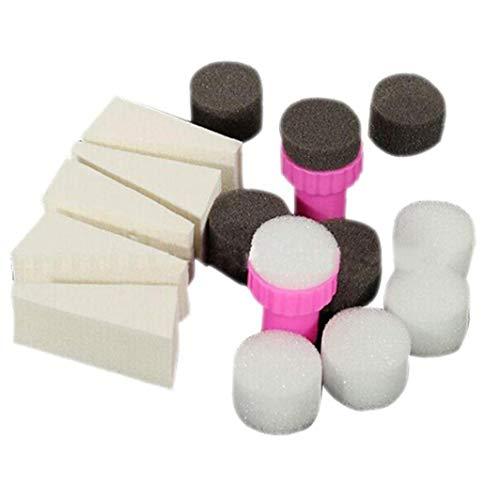 Nail Art Stamper Nagellackentferner Sponge Set Wedges Maniküre-nagel-gradient Werkzeuge