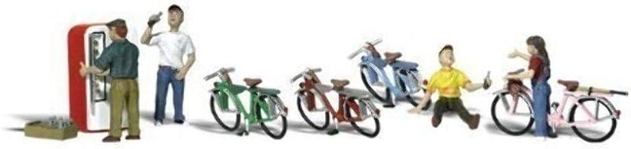 Woodland Scenics Bicycle Buddies HO Scale