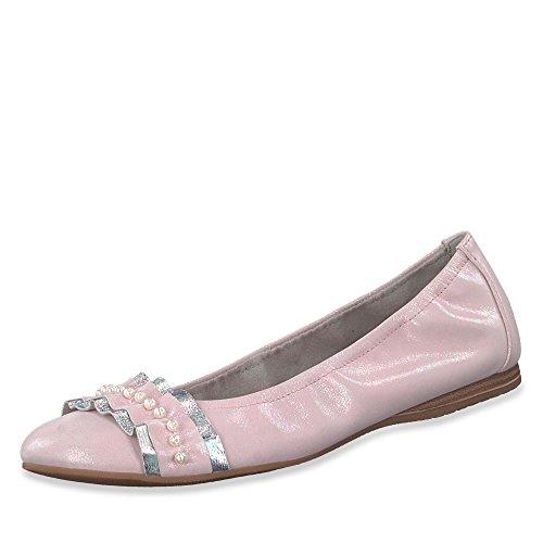 Tamaris Damen Ballerinas 1-1-22126-20 1-1-22126-20 rosa 412818