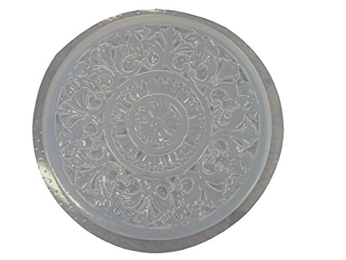 Decorative Celtic Design Concrete Plaster Stepping Stone Mold 1089