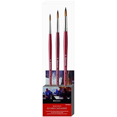 Escoda Alvaro Castagnet Signature Collection Prado Watercolour Brushes