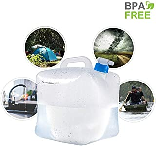 Gowithwind Collapsible Water Container with Spigot,FDA...