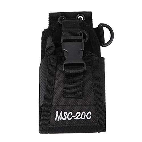 Casinlog MSC-20C - Funda universal de nailon para Yaesu IBT TYT UV-5R / 82 Interphone