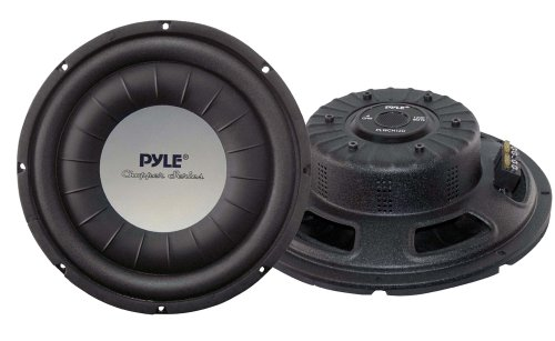 Pyle PLWCH12D subwoofer/Caisson de Basses 600 W Noir - Subwoofers/caissons de Basses (600 W, 28 - 2200 Hz, 1200 W, 4 Ohm, 30,5 cm (12\