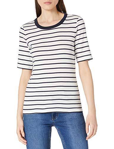 Esprit 011EE1K321 Camiseta, Blanco (110), S para Mujer