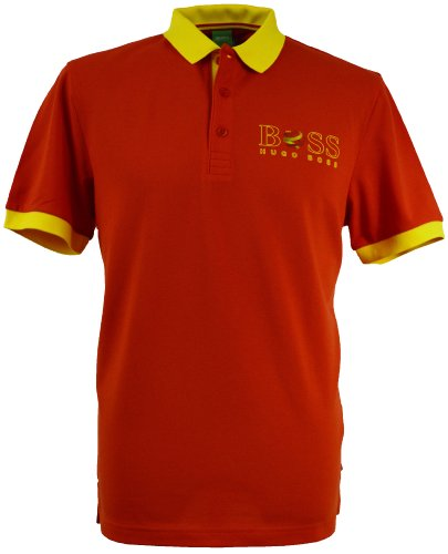 BOSS Hugo Polo - Homme Rouge Rouge - Rouge - Rouge - Large