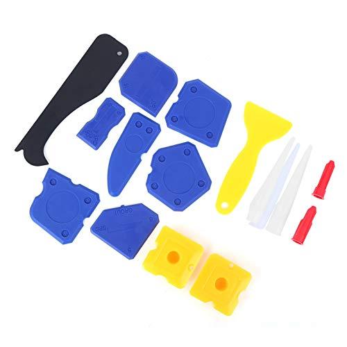 Herramientas de calafateo 15 piezas Kit de raspador de calafateo para pegamento de vidrio