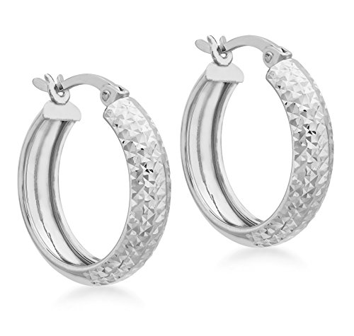 Carissima Gold Women's White Gold 9 ct White Gold Earring