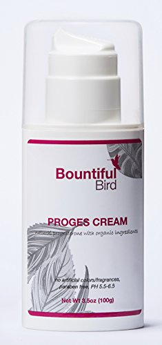 ★ PROFESSIONALLY FORMULATED TO WORK WITH YOUR BODY. Bountiful Bird cream contains 2% Natural Progesterone, Bioidential Progesterone Micronized. This level is recommended for PMS & menopause symptoms without the side effects associated with synthetic ...