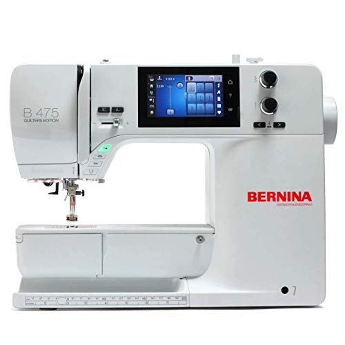 Bernina 475 Quilters Edition - Máquina de coser (Serie 4)