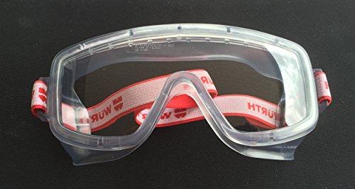 Würth Vollsichtbrille Profi Arbeitsschutz+Augenschutz+Brille Schutzbrille Safety Eyewear NEU
