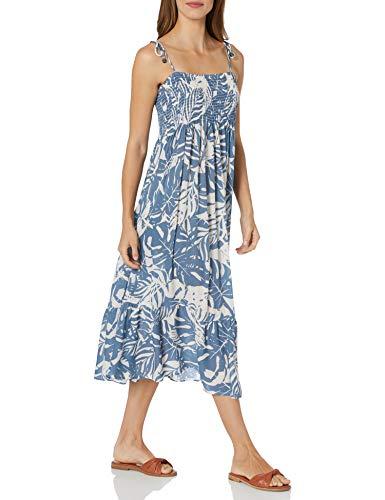 Anne Cole Studio Women's Standard Cover up Dress, Textured Palm Print, Medium