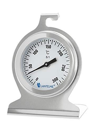 Lantelme termómetros Respaldo de Acero Inoxidable Horno termómetros bimetálicos. Temperatura termómetro analógica...