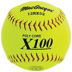 MacGregor X52RE ASA Slow Pitch Composite Softball, 12-inch - One Doz