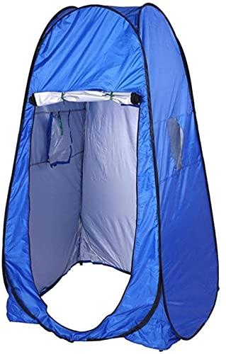 Ankon Pop Up Tent Beach Tent Tent Tents for Camping Ducha Tienda Ducha Aseo Aseo Camping Tienda Verano Baño al Aire Libre Tienda Tienda de Ducha Azul Tienda para Exteriores