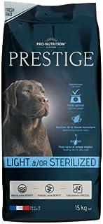 PRO-NUTRITION PRESTIGE MEDIUM LIGHT / STERILIZED DOG DRY FOOD 15 KG