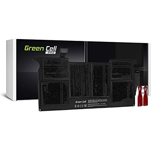 Green Cell PRO Serie A1495 Accu Laptop Batterij voor Apple MacBook Air 11 A1465 (5100mAh 7.6V Zwart)