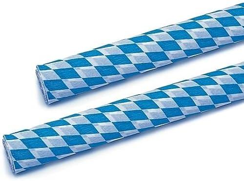 barato y de alta calidad 1 cartón Papstar=5 x crepe-papel 10 m m m x 50 cm  bávaro azules  difícilmente inflamable rollo 19001  buscando agente de ventas