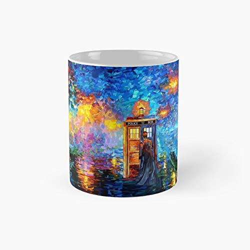 Mysterious Man At Beautiful Rainbow Place Classic Mug Birth-day Holi-day Gift Drink Home Kitchen