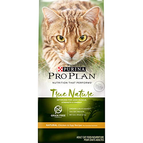 Purina Pro Plan Grain Free, High Protein, Natural Dry Cat...