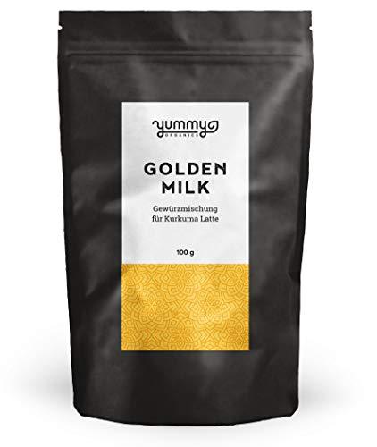 Golden Milk Gewürzmischung für Kurkuma Latte im 100g Beutel | fair gehandelt & handmade | perfekt...