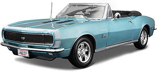 1:18 Escala Modelo de simulación de Coches, Altamente Detallada aleación de Metal Fundido Modelo, Modelo Exclusivo de colección, Roadster Car Model Kit, 27x10x6.5CM