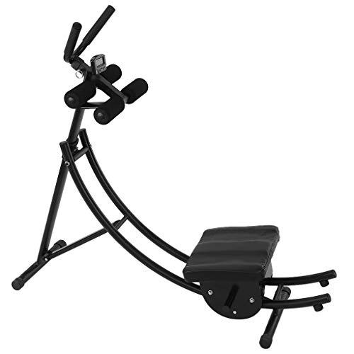 Hohaski Adjusting Abdomen Machine Roll Abdominal Training Fitness Equipment, Sturdy Ab...