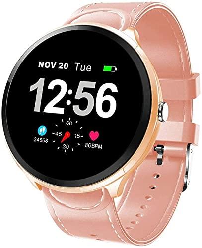 GPWDSN Smartwatch Fitness Armband mit Blutdruckmessgerät Pulsoximeter Blutsauerstoffmonitor Sportuhr Fitnessuhr Schrittzähler IP68 Wasserdichter Monitor für