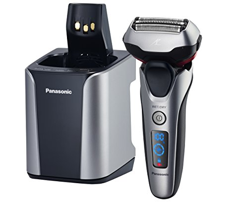 Price comparison product image Panasonic ES-LT7N-S Arc 3-Blade Electric Shaver System with Premium Automatic Clean and Charge Station,  Active Shave Sensor Technology,  Wet or Dry Operation
