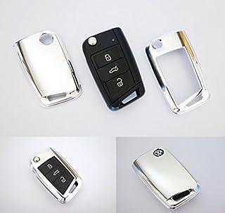 Key Cover Hülle für Klappschlüssel Fernbedienung FFB Chrom