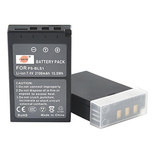 DSTE 2-Pacco Ricambio Batteria per Olympus PS-BLS1 BLS-1 E-400 E-410 E-420 E-450 E-600 E-620 E-P1 E-P2 E-P3 E-PL1 E-PL3 E-PM1