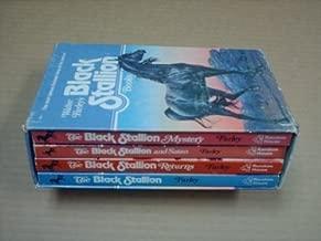 Walter Farley's Black Stallion Books 4-Volume boxes Set: The Black Stallion, The Black Stallion Returns, The Black Stallion and Satan, The Black Stallion Mystery