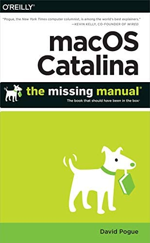 macOS Catalina The Missing Manual The Book That Should Have Been in the Box product image