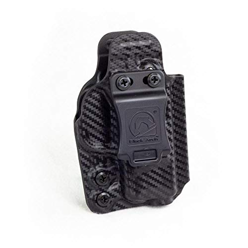 Black Arch Holsters Rev-Con Reversible Convertible Holster for Walther PPQ RC-WAL-PPQ-BLK-CF