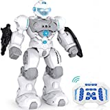 RC Robot Toy, Intelligent Programmable Robot with Infrared Controller, Gesture Sensing Robotic Interactive Walking Singing Dancing, Robot Toy Gift for Kids