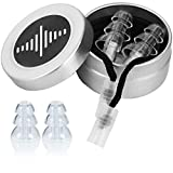 High Fidelity Ear Plugs for Musicians by BetterSound | Noise Cancelling Ear Plugs for Drummers Concerts dj Motorcycle Helmet | Tinnitus Protection Reduction Filter