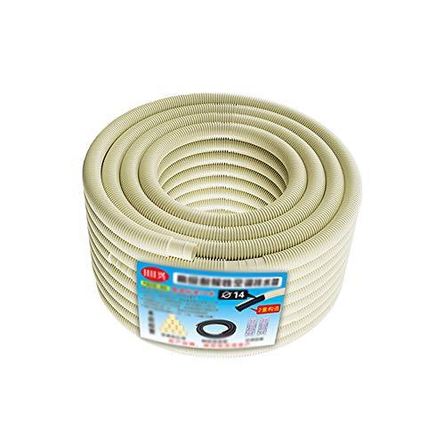 Caixia tuyau deau Double couche épaissie Drainage Tuyau ABS Matière Première protection de lenvironnement Insipide climatisation extérieur tuyau Condensat (Size : 20m)